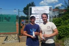 Andrew Freel - Rheinlandmeister LK7-15 Sommer 2017 gegen Dennis Berleth 050617