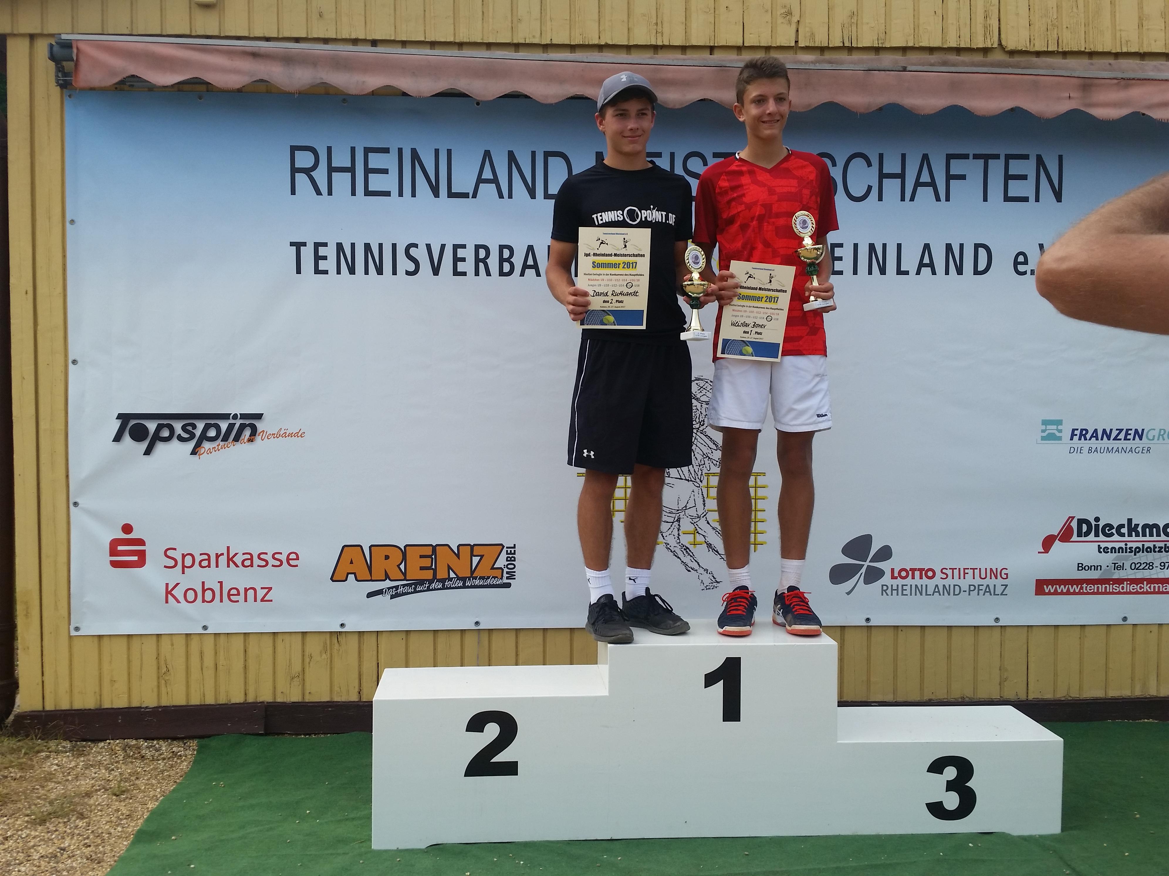 Rheinlandmeisterschaften 2017 - 2. Platz 270817