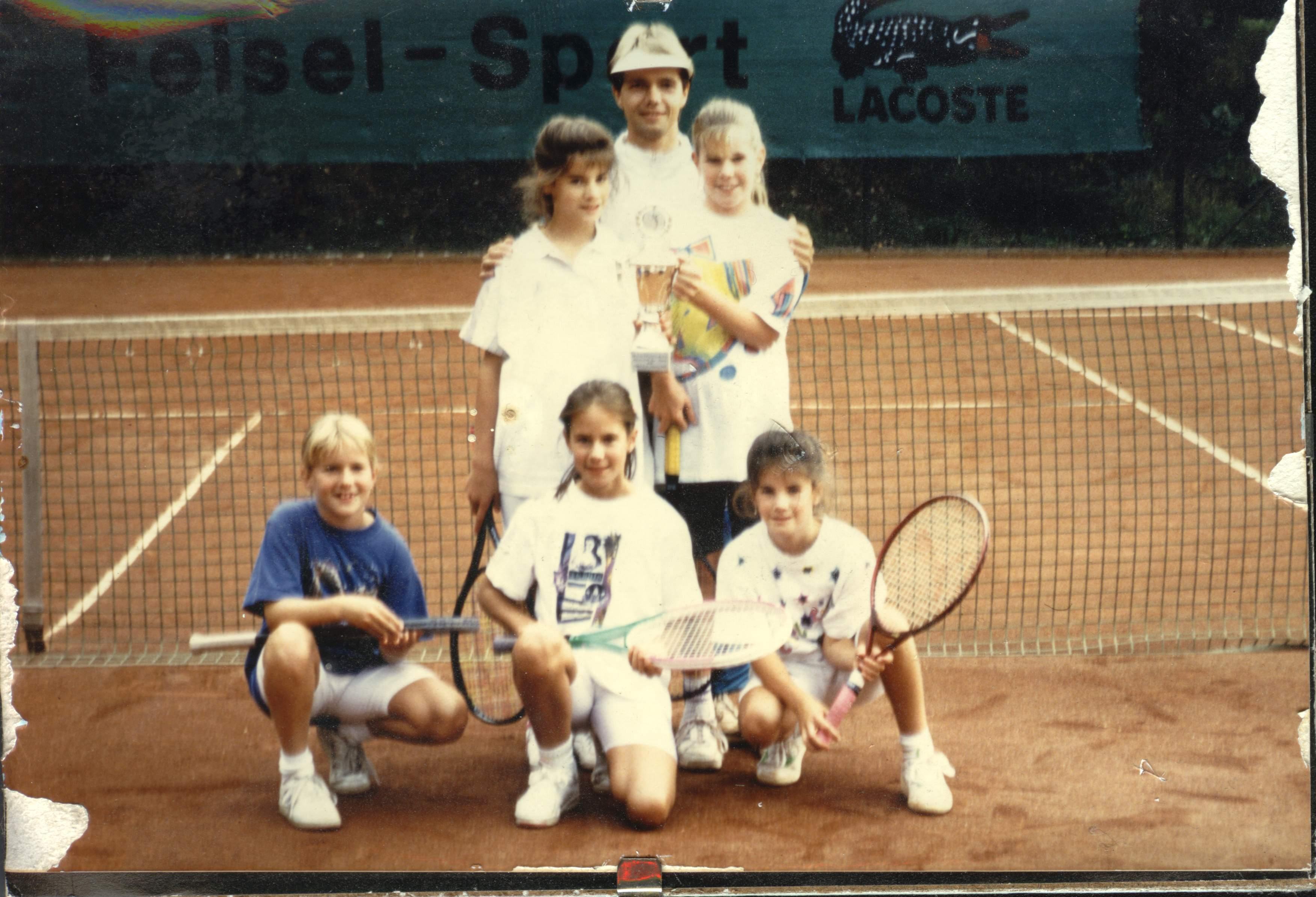 Tennisgruppe 1992 in Betzdorf